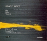 FURRER - Hoffman - Aria, pour soprano