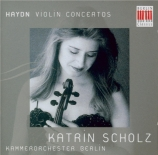 HAYDN - Scholz - Concerto pour violon et orchestre n°1 en do majeur Hob