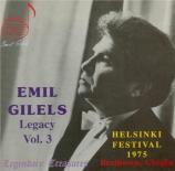 BEETHOVEN - Gilels - Sonate pour piano n°16 op.31 n°1
