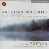 VAUGHAN WILLIAMS - Previn - Symphonies (intégrale)
