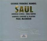 HAENDEL - McCreesh - Saul, oratorio HWV.53