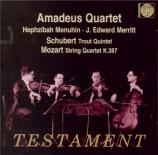 SCHUBERT - Amadeus Quartet - Quintette avec piano en la majeur op.posth