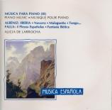 ALBENIZ - De Larrocha - Iberia