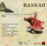RAMEAU - Balsam - Pièces de clavecin en concerts (1741)