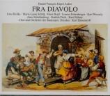 AUBER - Elmendorff - Fra Diavolo (version française) (en allemand) en allemand