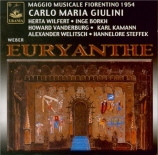 WEBER - Giulini - Euryanthe