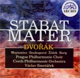 DVORAK - Borg - Stabat Mater, pour soprano, contralto, ténor, basse, chœ