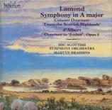 LAMOND - Brabbins - Symphonie en la majeur op.3