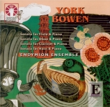 BOWEN - Endymion Ensemb - Sonate pour flûte et piano op.120
