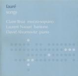 FAURE - Brua - La bonne chanson (Verlaine), cycle de mélodies pour voix