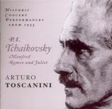 TCHAIKOVSKY - Toscanini - Symphonie 'Manfred' pour orgue et orchestre en Carnegie Hall, 1953