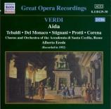 VERDI - Del Monaco - Aida, opéra en quatre actes