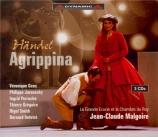 HAENDEL - Gens - Agrippina, opéra en 3 actes HWV.6