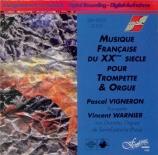 Musique française du XXème siècle pour trompette et orgue