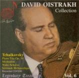 TCHAIKOVSKY - Oistrakh - Méditation pour violon et piano en ré mineur op Vol.6