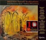 BRITTEN - Lott - Purcell Realizations (3) pour voix et divers instrument