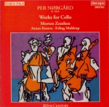 NORGARD - Zeuthen - Sonate pour violoncelle solo n°2