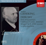 DEBUSSY - Gieseking - Suite bergamasque, pour piano L.75