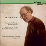 NORHOLM - Veto - Concerto pour violon et orchestre op.60