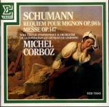 SCHUMANN - Corboz - Requiem für Mignon, pour solistes et chœur avec orch
