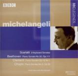 SCARLATTI - Michelangeli - Sonate pour clavier en do mineur K.11 L.352