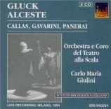 GLUCK - Giulini - Alceste (Live Scala di Milano 1954) Live Scala di Milano 1954