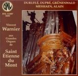 Aux grandes orgues de Saint Etienne du Mont : Prélude - Adagio et chor