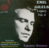 E. Gilels Legacy vol. 4