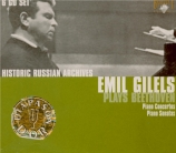 BEETHOVEN - Gilels - Concerto pour piano n°1 en ut majeur op.15