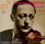 Jascha Heifetz Collection ol. 4