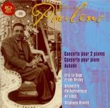 POULENC - Le Sage - Concerto pour piano et orchestre FP.146 'Concerto en