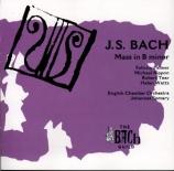 BACH - Somary - Messe en si mineur, pour solistes, chœur et orchestre BW