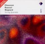 CHAUSSON - Quatuor Via Nov - Quatuor à cordes op.35