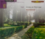 LISZT - Rubackyté - Années de pèlerinage : intégrale