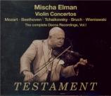 Violin Concertos The Complete Decca Recordings, Vol.I