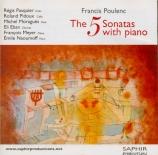 POULENC - Naoumoff - Sonate pour clarinette et piano FP.184 'A la mémoir