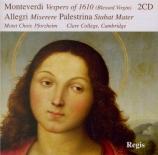 MONTEVERDI - Brown - Vespro della beata Vergine (1610)