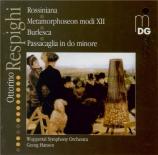 RESPIGHI - Hanson - Rossiniana, suite pour orchestre P.148