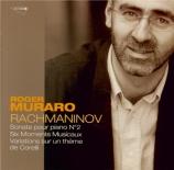RACHMANINOV - Muraro - Sonate pour piano n°2 en si bémol mineur op.36