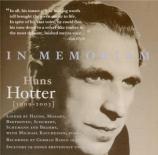 In Memoriam Hans Hotter : Lieder
