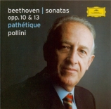 BEETHOVEN - Pollini - Sonate pour piano n°5 op.10 n°1