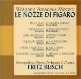 MOZART - Busch - Le nozze di Figaro (Les noces de Figaro), opéra bouffe
