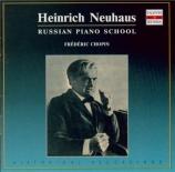 CHOPIN - Neuhaus - Mazurka pour piano n°27 en mi mineur op.41 n°2