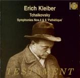 TCHAIKOVSKY - Kleiber - Symphonie n°6 en si mineur op.74 'Pathétique'