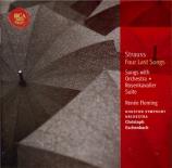 STRAUSS - Fleming - Vier letzte Lieder (Quatre derniers lieder), pour so