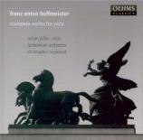 HOFFMEISTER - Pillai - Concerto pour alto et orchestre en si bémol majeu