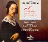 RUBINSTEIN - Franck - Sonate pour violon et piano op.98