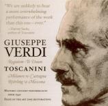 VERDI - Toscanini - Messa da requiem, pour quatre voix solo, chœur, et o Carnegie Hall, 23 novembre 1940