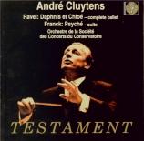 RAVEL - Cluytens - Daphnis et Chloé, ballet pour orchestre et choeur mixt