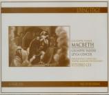 VERDI - Gui - Macbeth, opéra en quatre actes (version italienne) live Palermo 1960